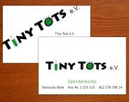 Tiny Tots e.V. Visitenkarten